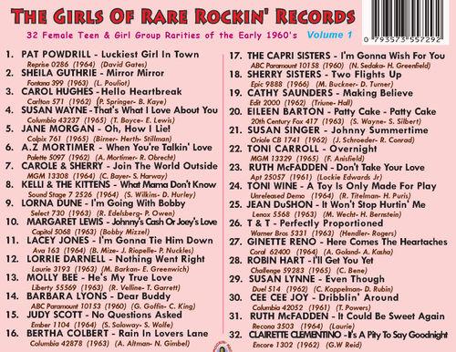 Girls Of RRR Tracklist