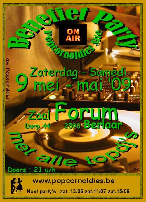 Forum 9 mei 09 Benefiet