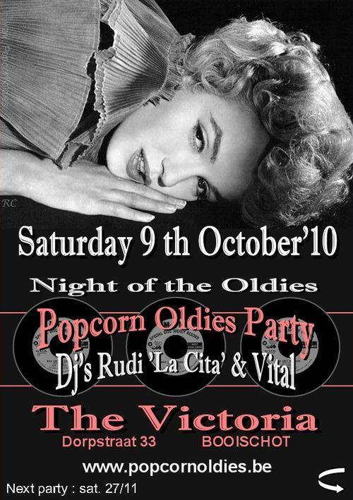 Victoria 9 oktober 10 afiche