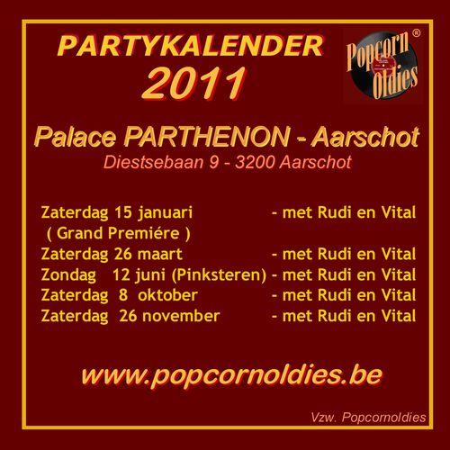 Partykalender Parthenon 10  - A6 Carre S final