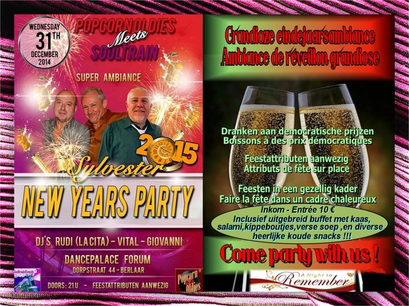 Sylvester Party 2014 - met entree en kader - small